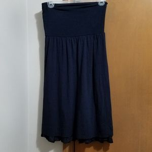 Theory skirt, navy blue